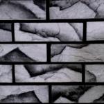 0806М кирпичный скол серый мрамор