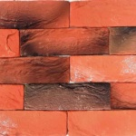1305_кирпич бельгийский терракот микс_декоративный камень_полинка_POLINKA.BY