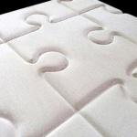 П1_3D_панель_3Д_Пазл_белый_420*420_декоративный камень_полинка_POLINKA.BY