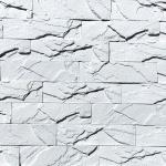0800_кирпичный скол белый_декоративный камень_полинка_POLINKA.BY