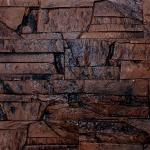 0904_сланец византийский коричневый_декоративный камень_полинка_POLINKA.BY